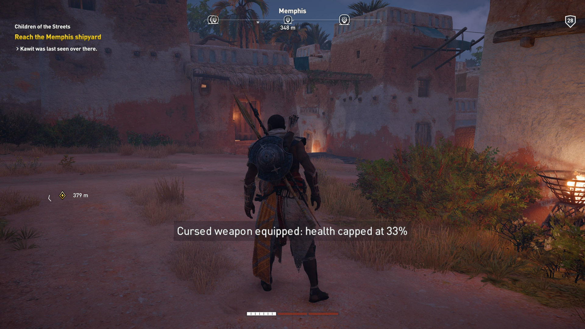 Cursed Weapons in Assassin's Creed Origins
