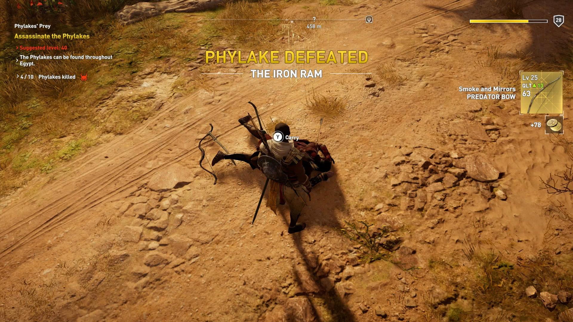Assassin's Creed Origins - All Phylakes Locations | Shacknews