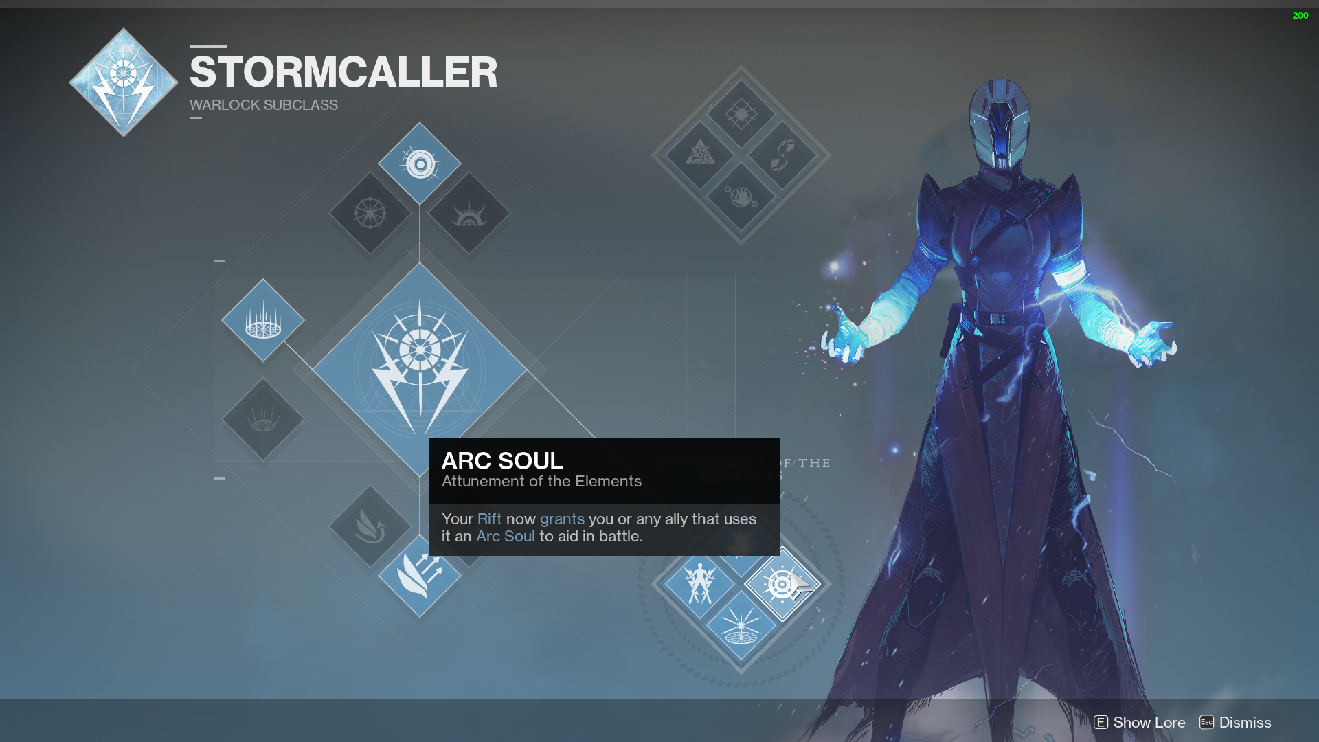 The Arc Soul Has A Simple To Understand Description Your Rift Now Grants You Or Any Ally That Uses It An Aid In Battle