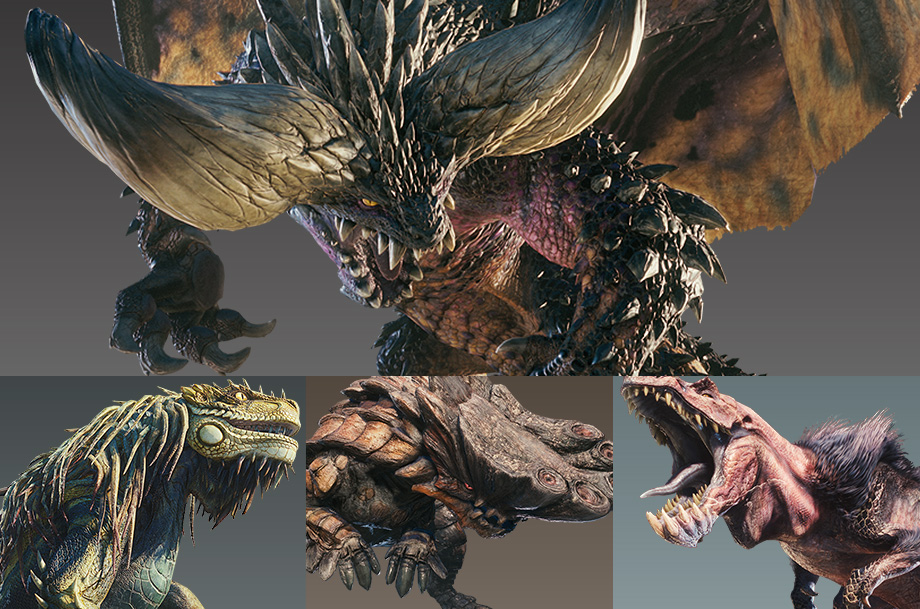 Monster hunter world all monsters shacknews for Decorations monster hunter world