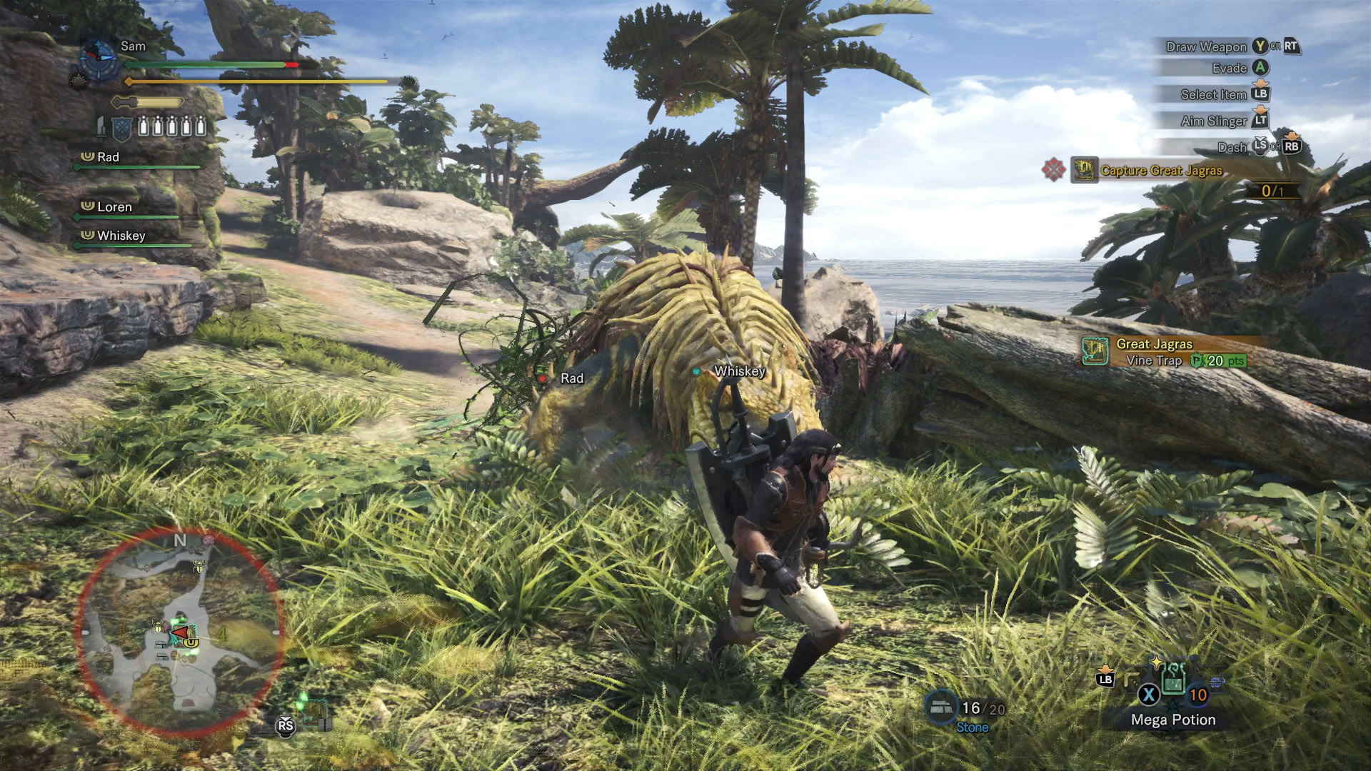 monster hunter world how to give