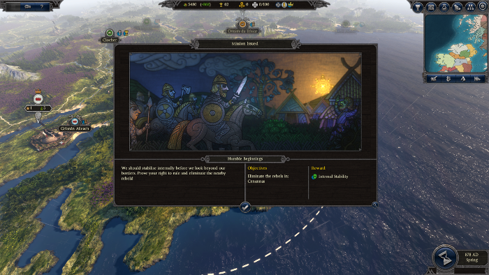 Total War Saga: Thrones of Britannia releases in April