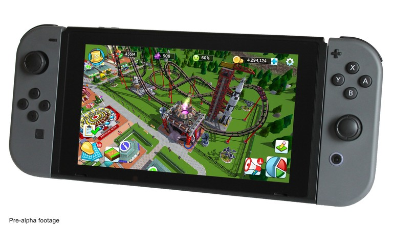 RollerCoaster Tycoon Team Wants To Crowdfund A New Switch Game
