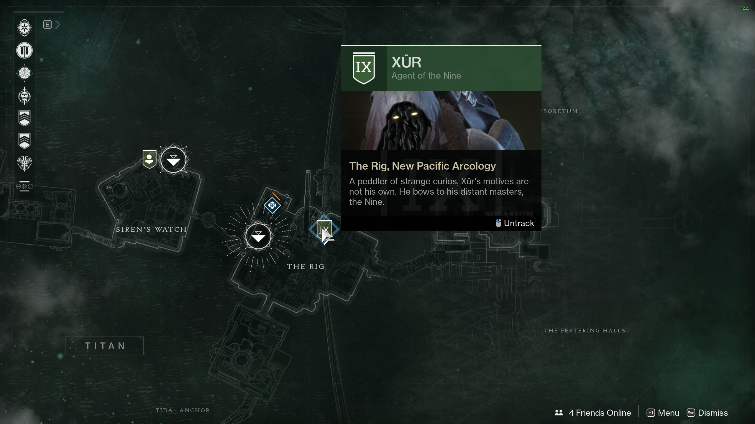 Destiny 2 - Where Is Xur for January 26, 2018?