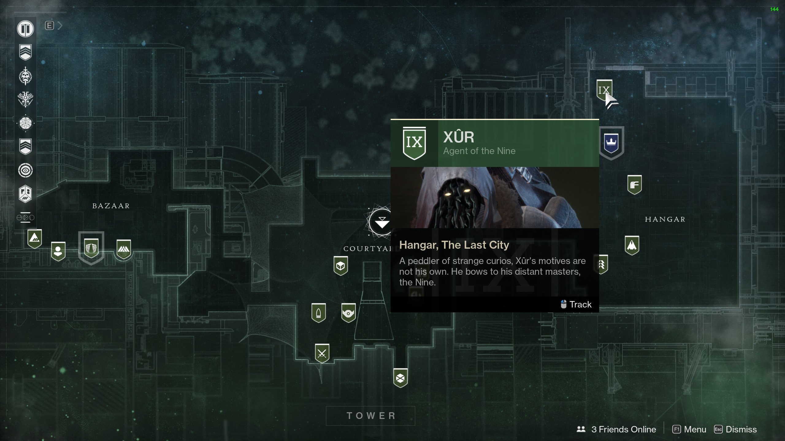 Destiny 2 Xur Location and Items for January 19