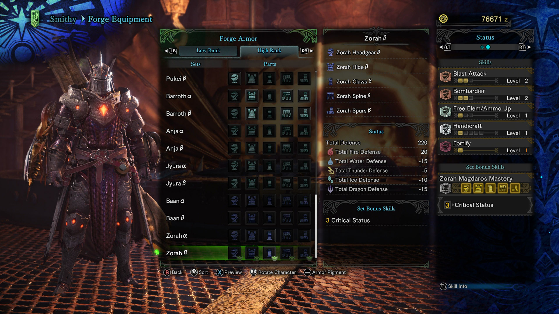 Monster Hunter World All Armor Sets Gaming Updates
