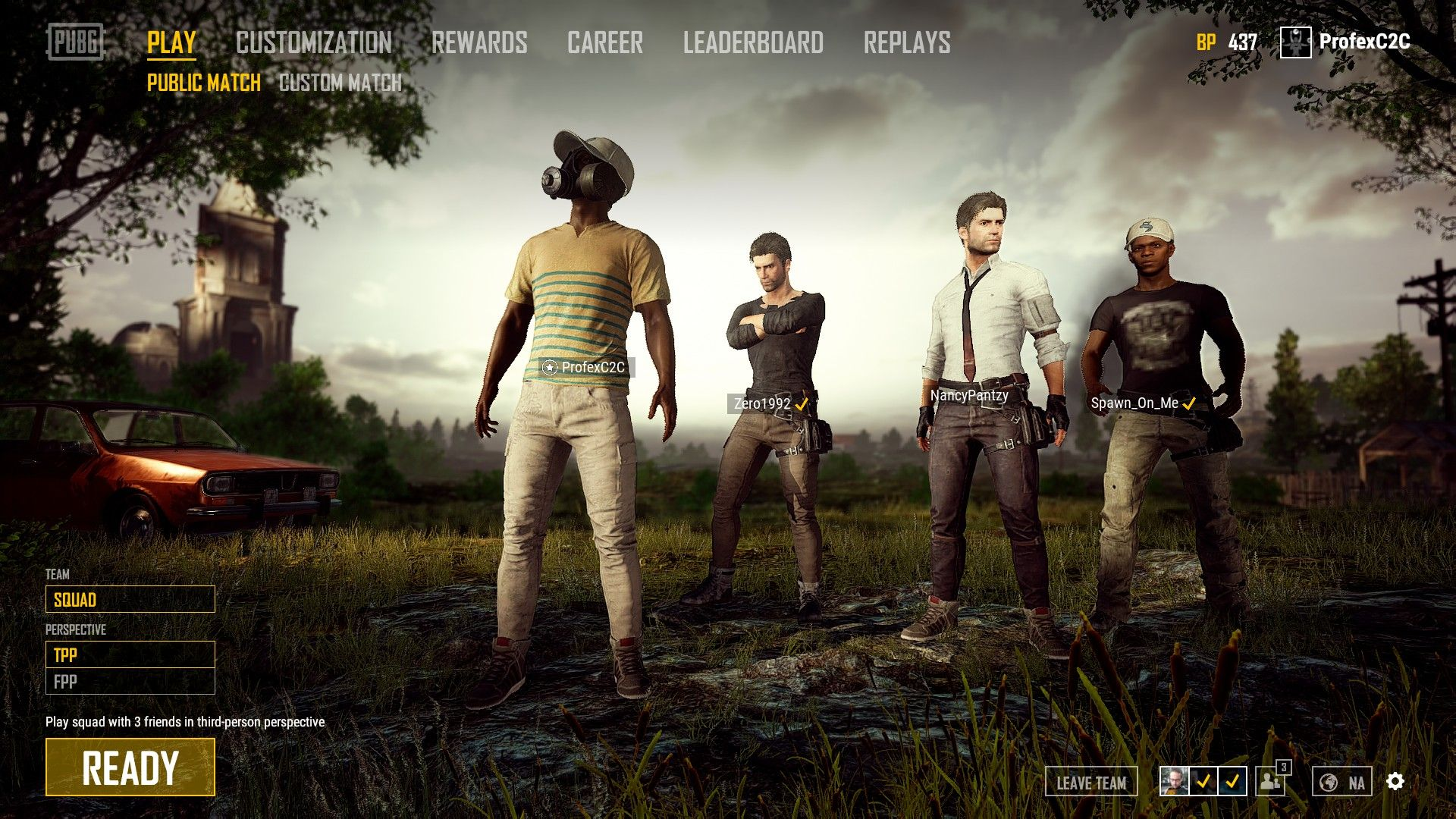 PUBG - Matchmaking System Will Consider Players' Ping