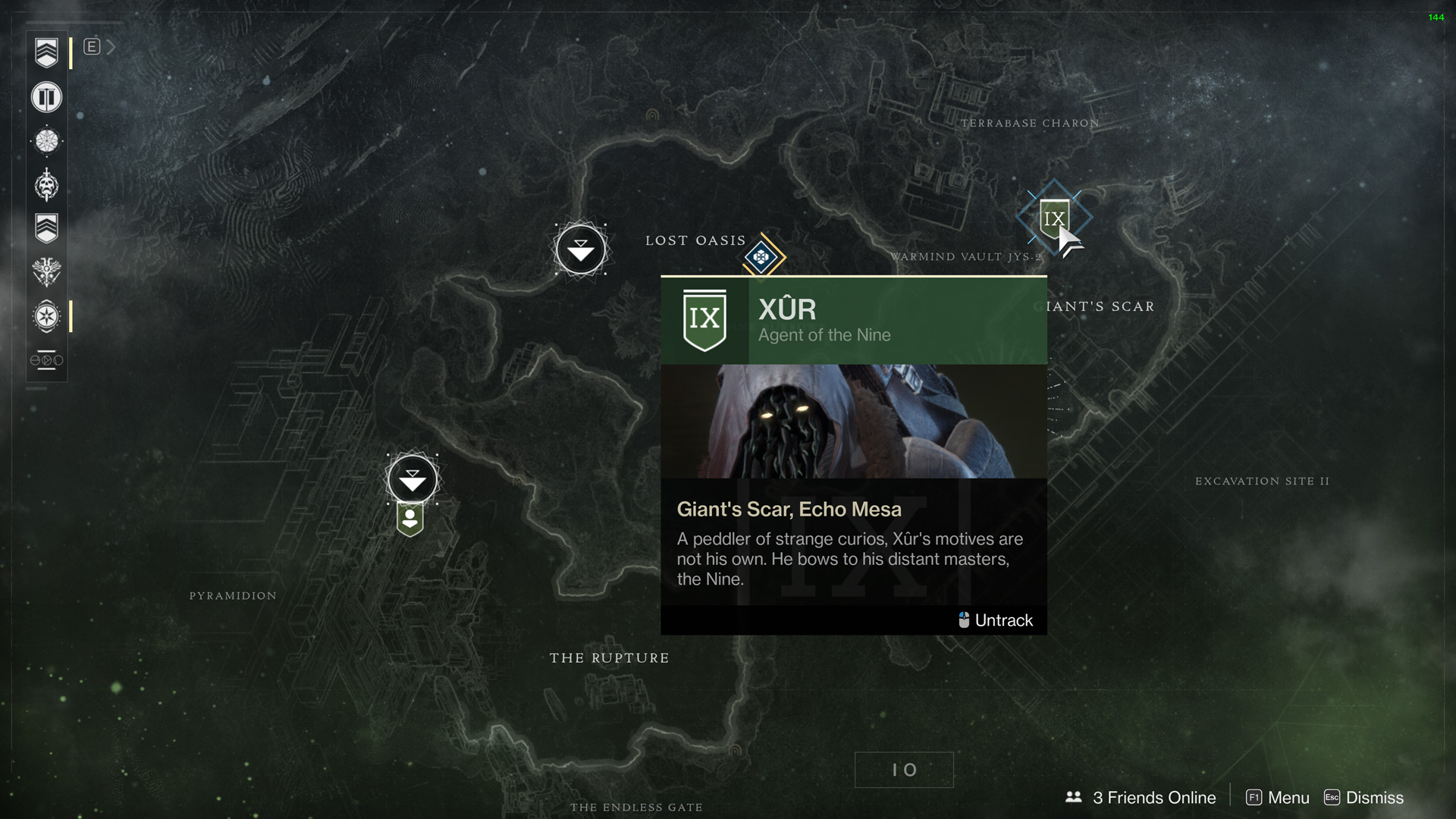 Destiny 2 Xur Time: Location and Items for February 9
