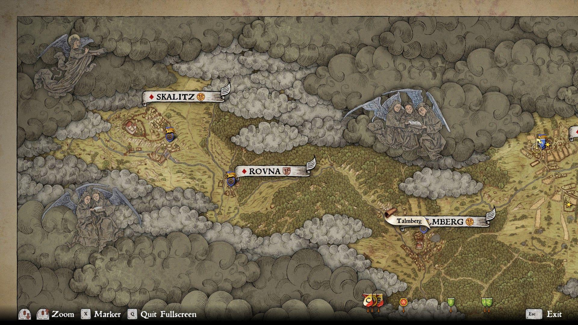 How Big Is Kingdom Come Deliverance S Map Shacknews