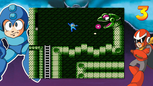 Mega Man Legacy Collection 1 + 2 Coming to Switch This Summer