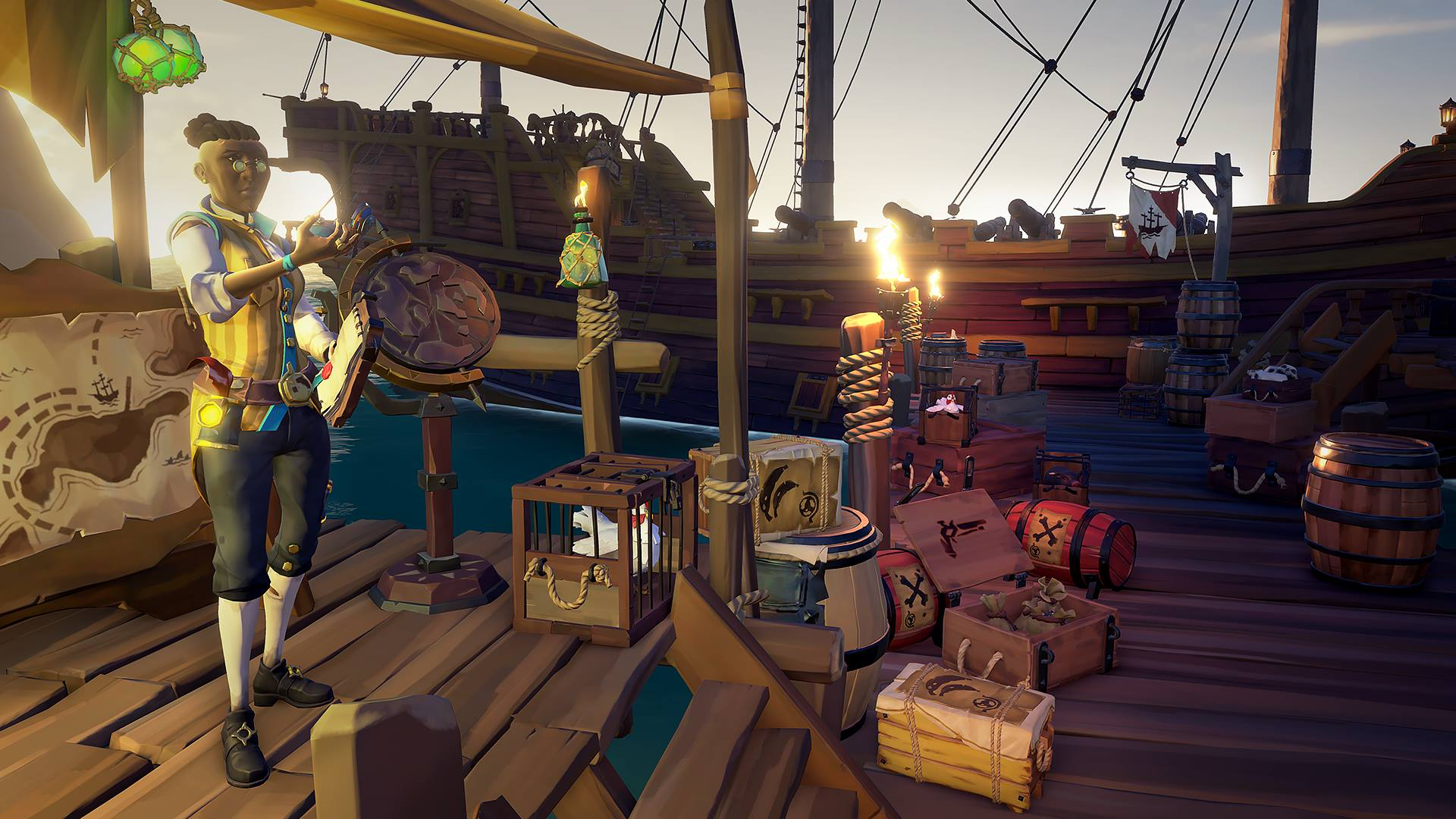 Sea of Thieves on the PC runs well, with unusual limitations