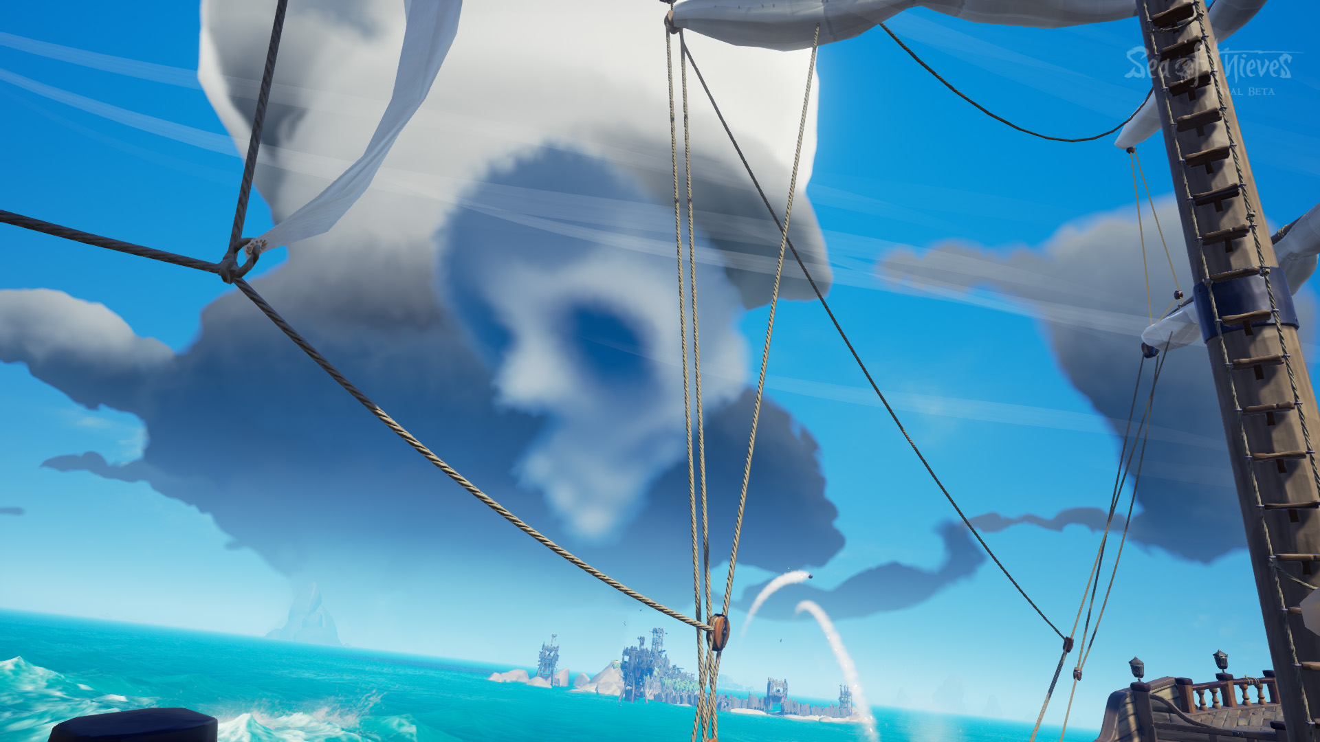Sea Of Thieves Skull Cloud