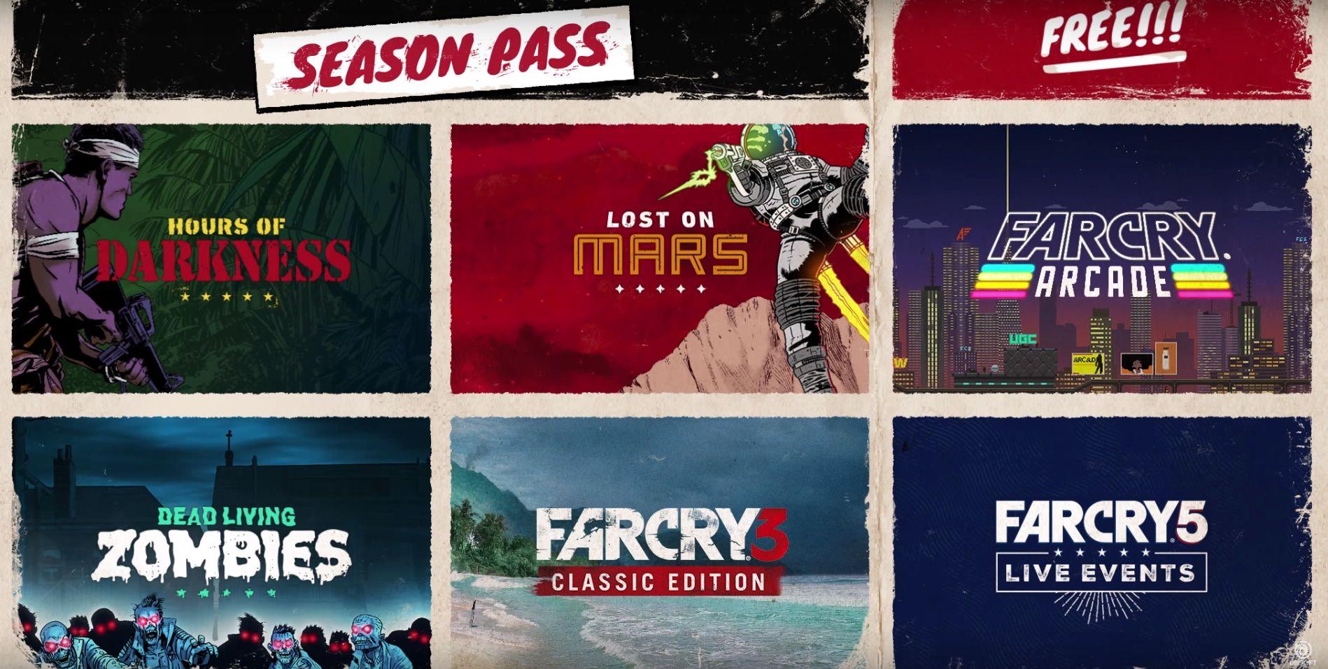 Pase de Temporada de Far Cry 5