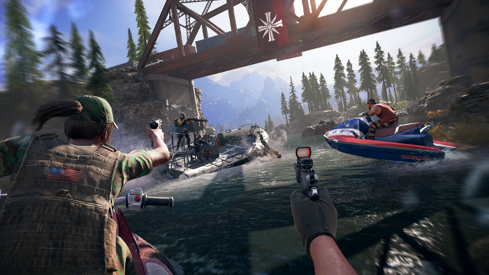 Far Cry 5 Gameplay Vid is 'Mayhem in the Mountains'