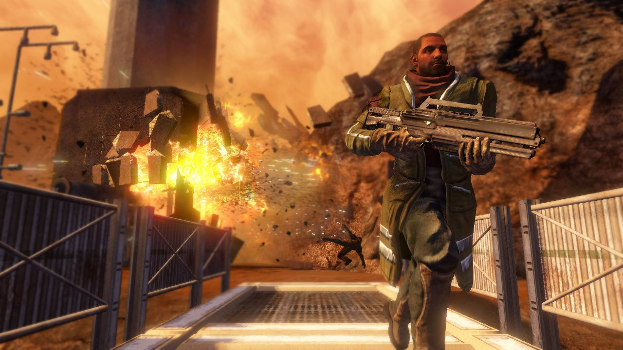 Red Faction: Guerrilla Remastered coming to PC, consoles with native 4K support