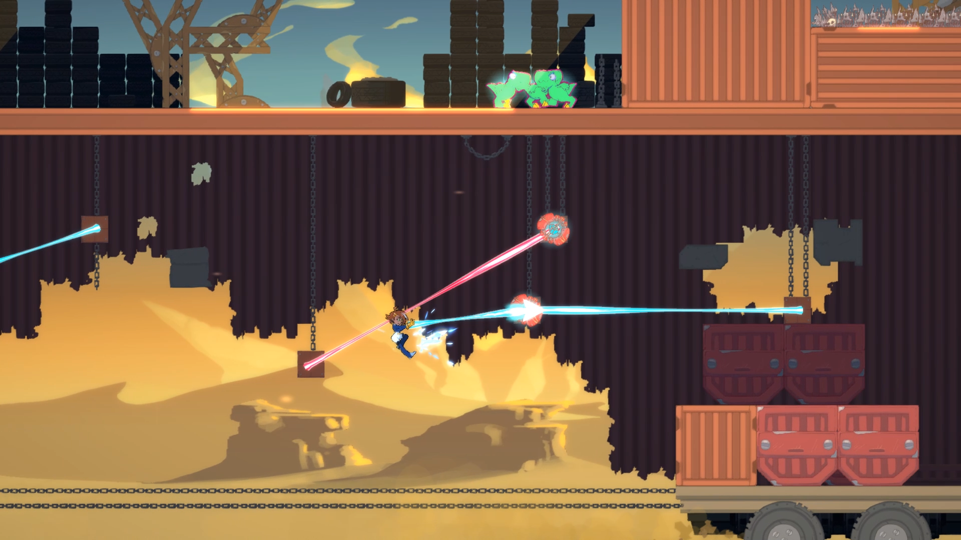 Runbow studio 13AM Games announces platformer Double Cross for Switch, PC