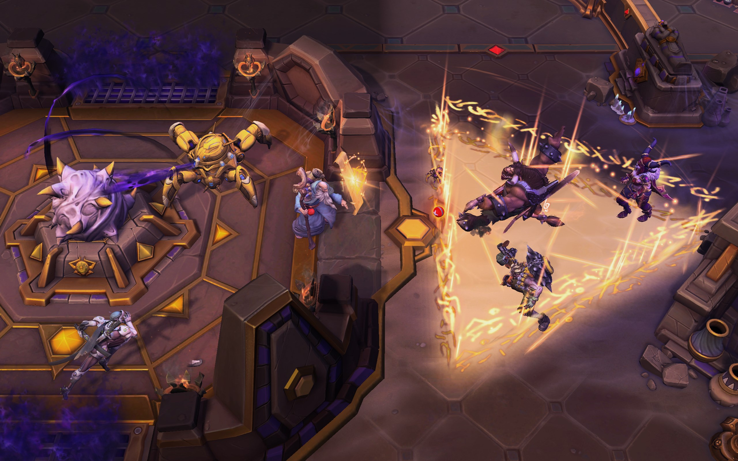 Deckard Cain Plans on Staying in Heroes of the Storm For Awhile
