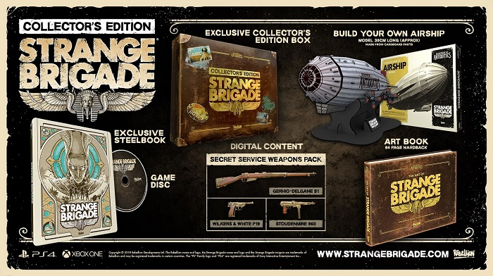 Strange Brigade Delivers Mummy Shooting Action With August Release Date