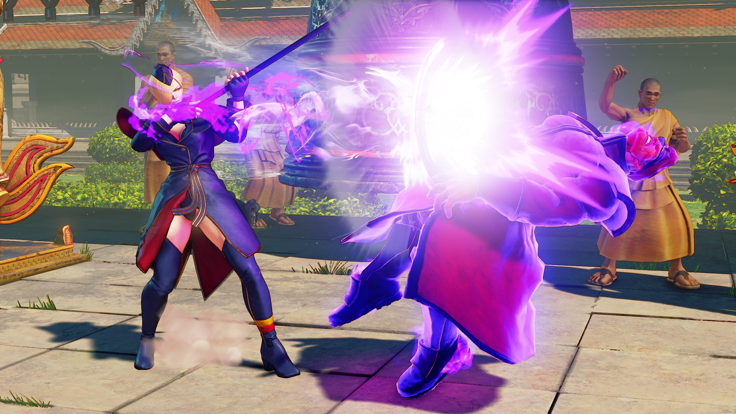 Street Fighter V's Falke Previewed in Introduction Video
