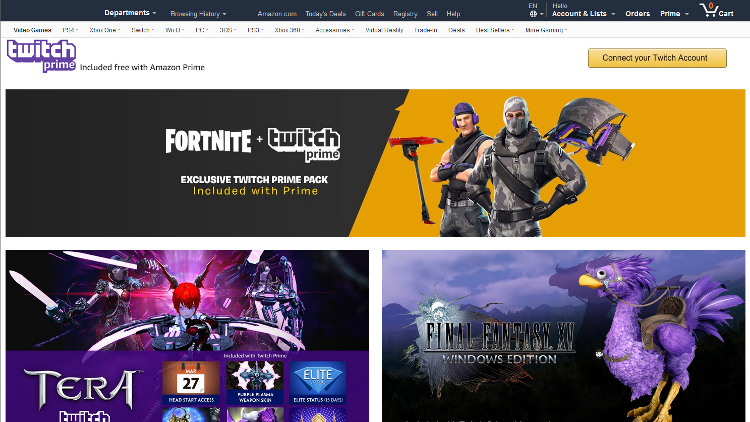 Twitch Prime Perks and Benefits