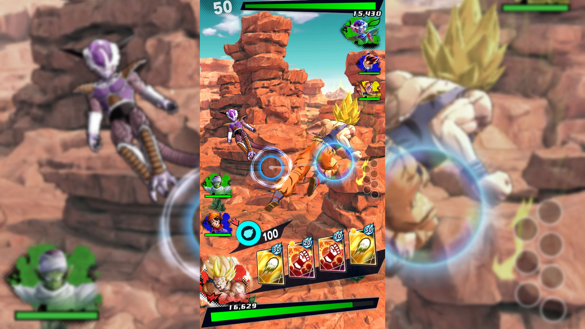 Gdc 2018 dragon ball legends interview goku on the go shacknews from what i gathered during my hands on time with dragon ball legends its a game all about strategy and timing making sure i had the right combo of moves voltagebd Image collections