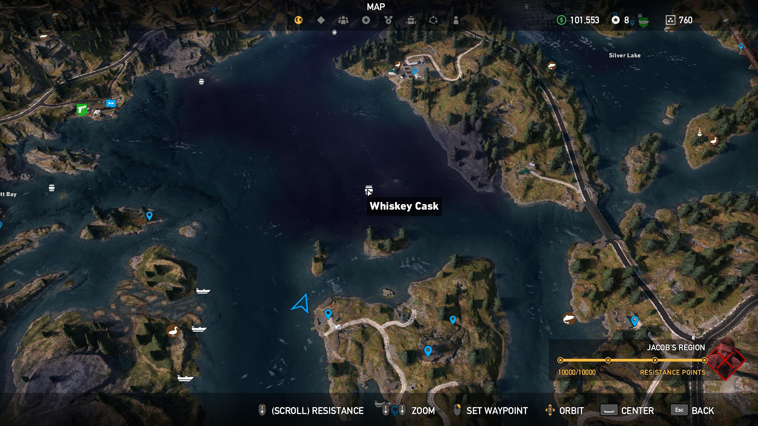 Far Cry 5 whiskey barrel location 10