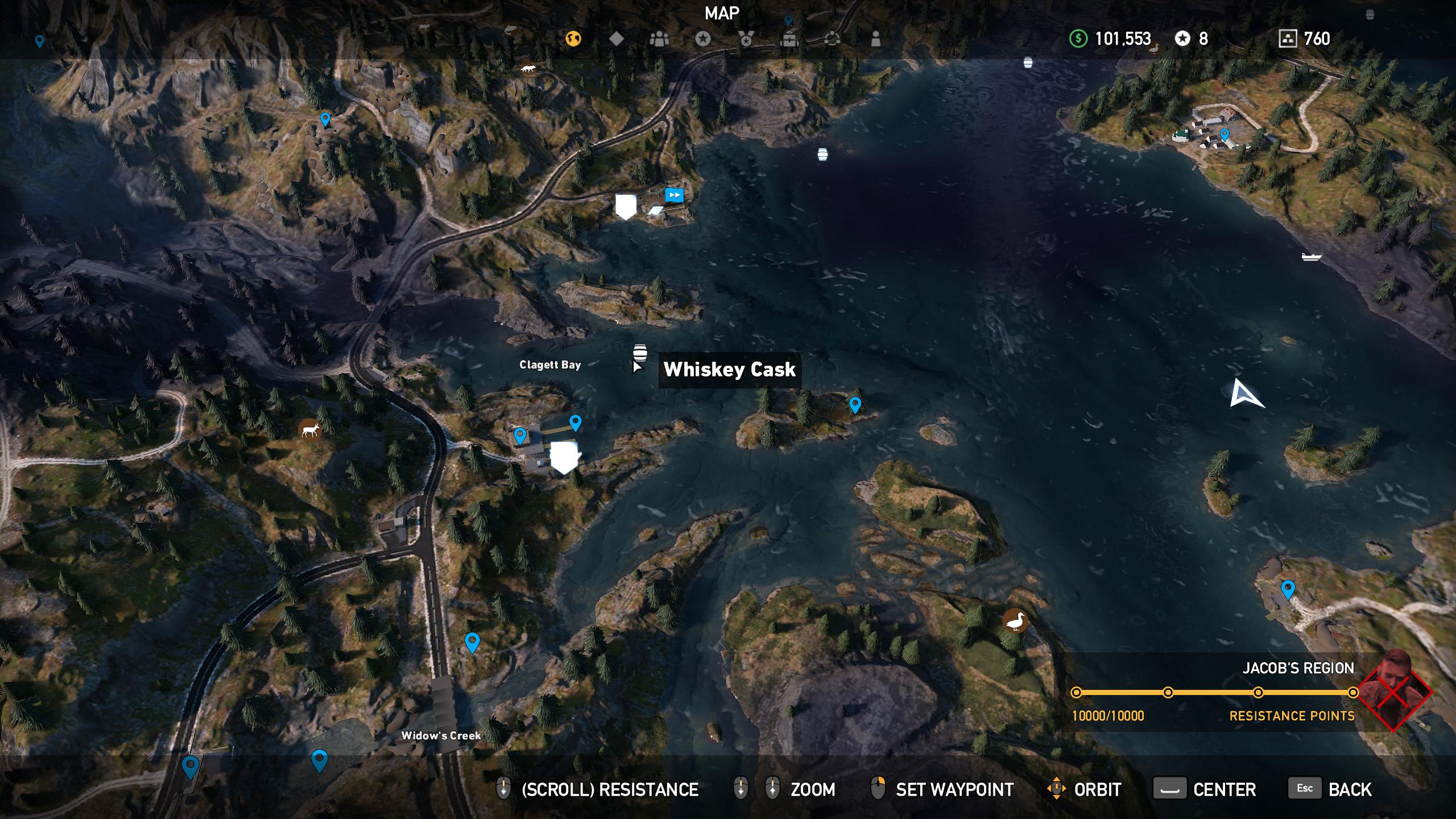 Far Cry 5 whiskey barrel location 11