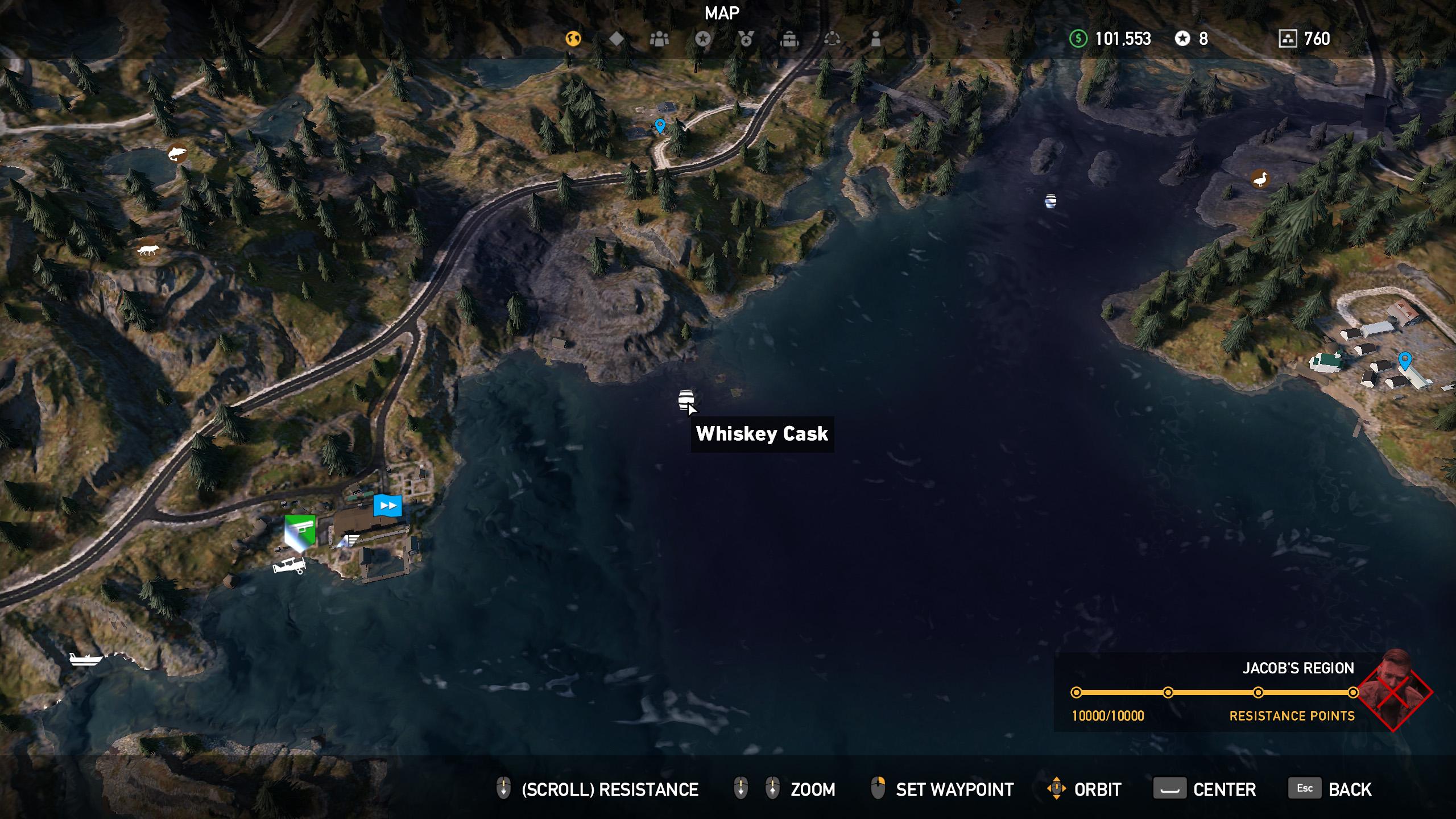 Far Cry 5 whiskey barrel location 12