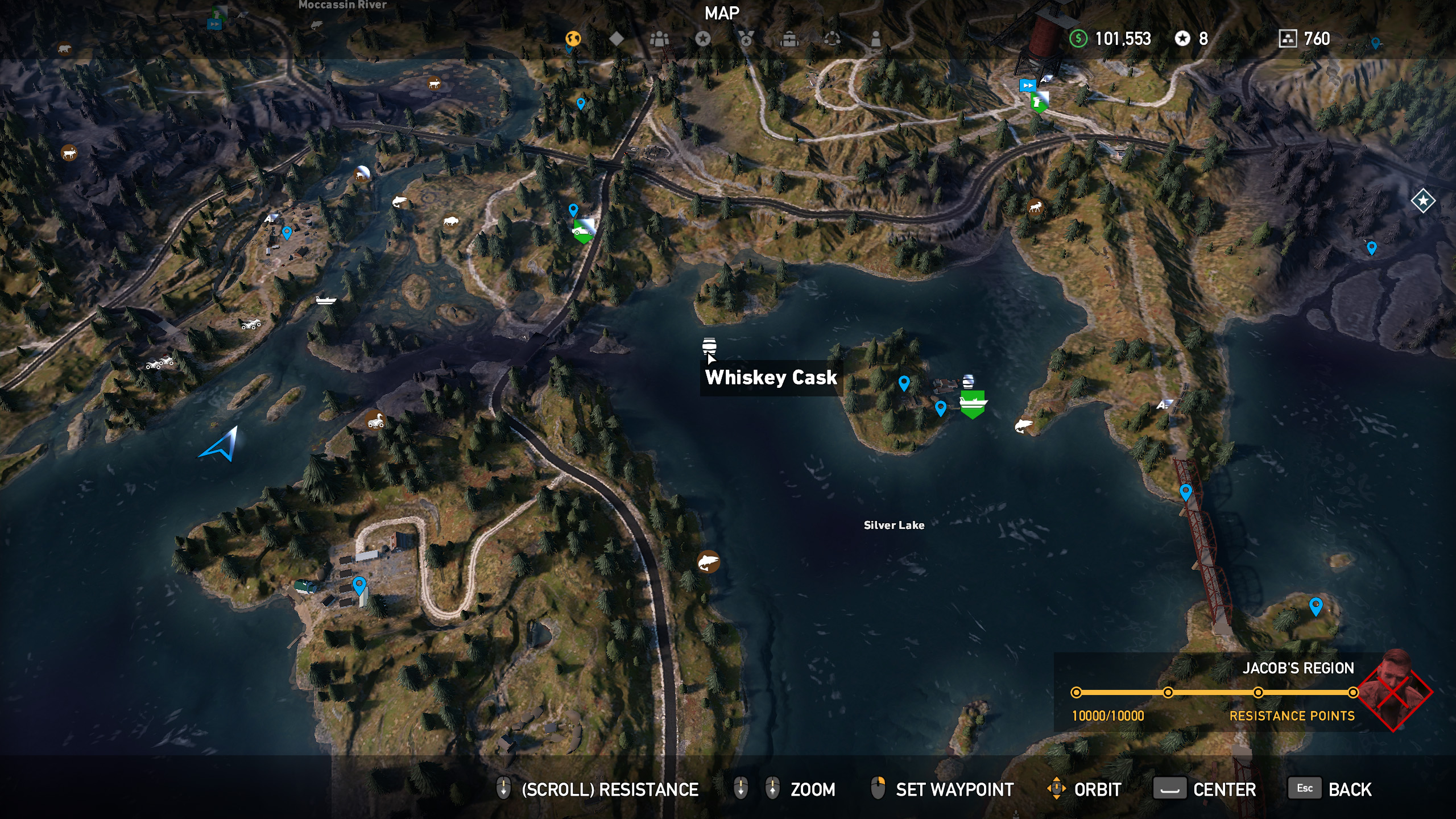 Far Cry 5 whiskey barrel location 14