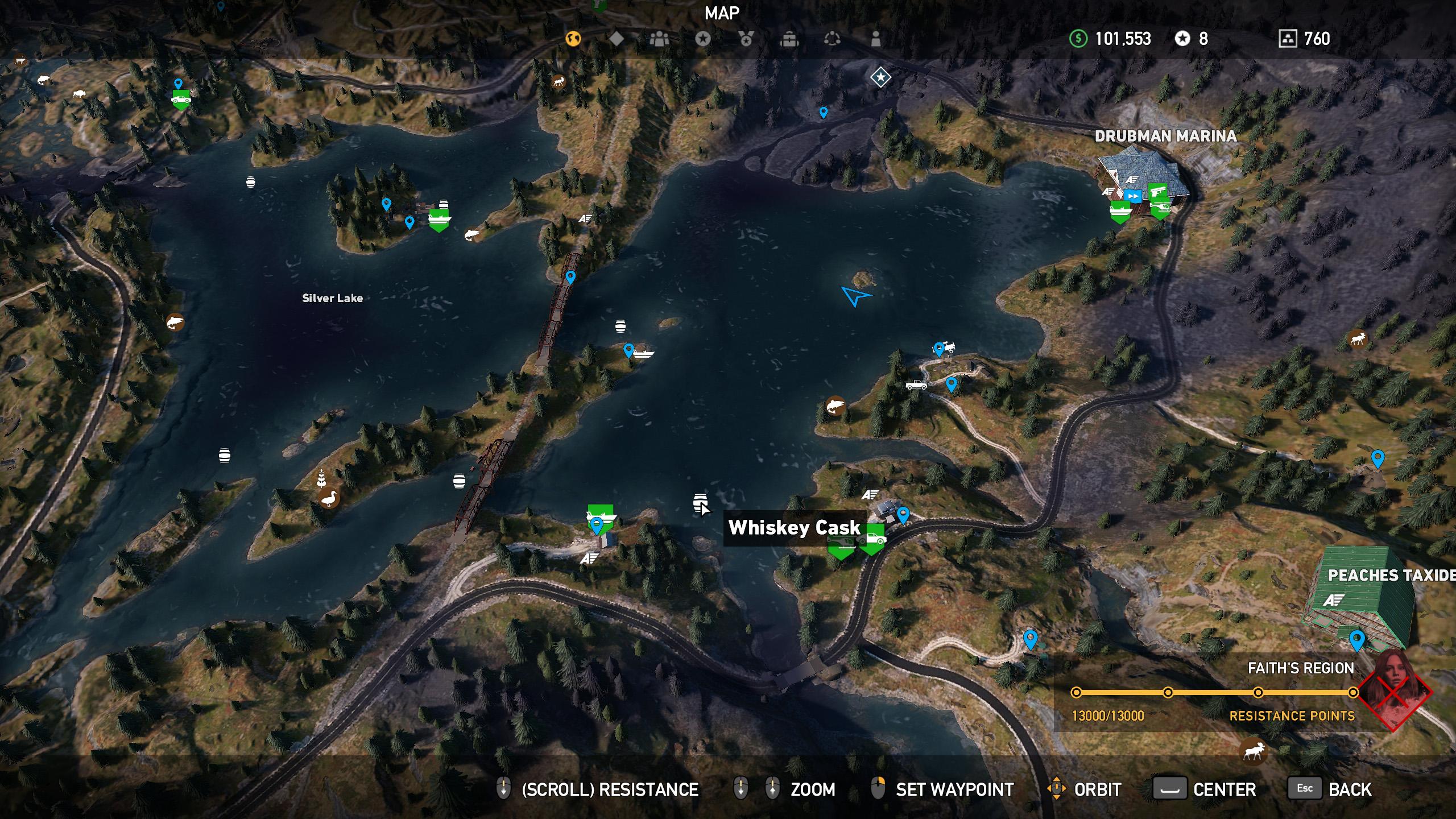 Far Cry 5 whiskey barrel location 2