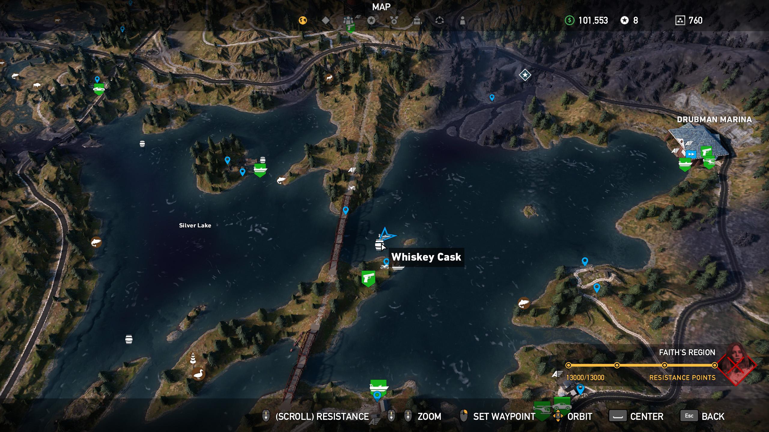 Far Cry 5 whiskey barrel location 3