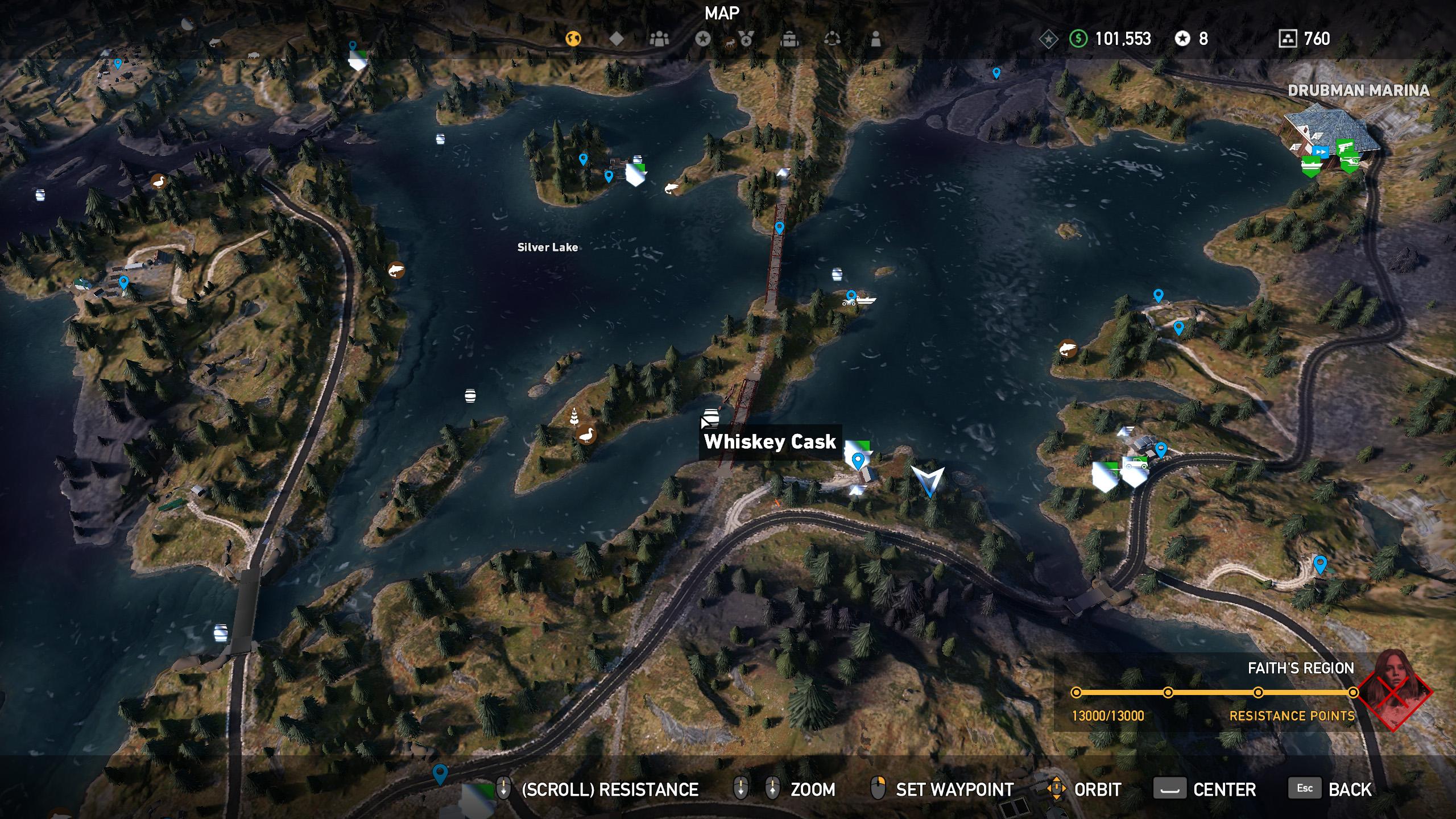 Far Cry 5 whiskey barrel location 4
