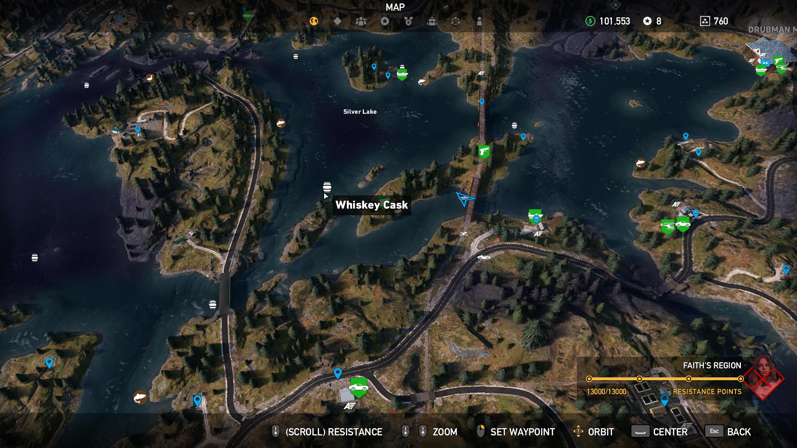 Far Cry 5 whiskey barrel location 5