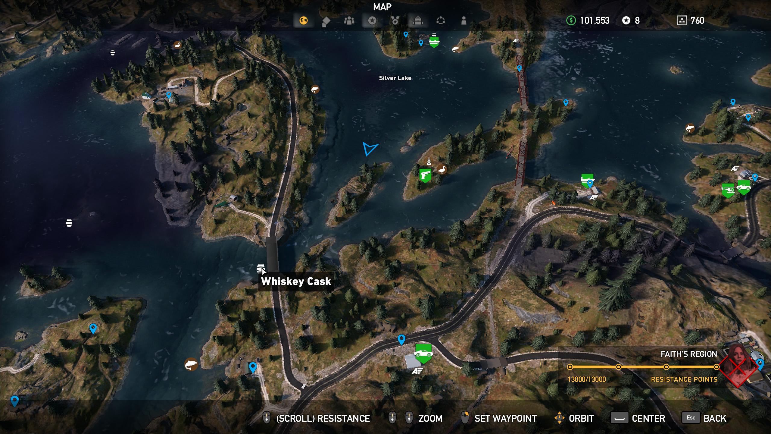 Far Cry 5 whiskey barrel location 6