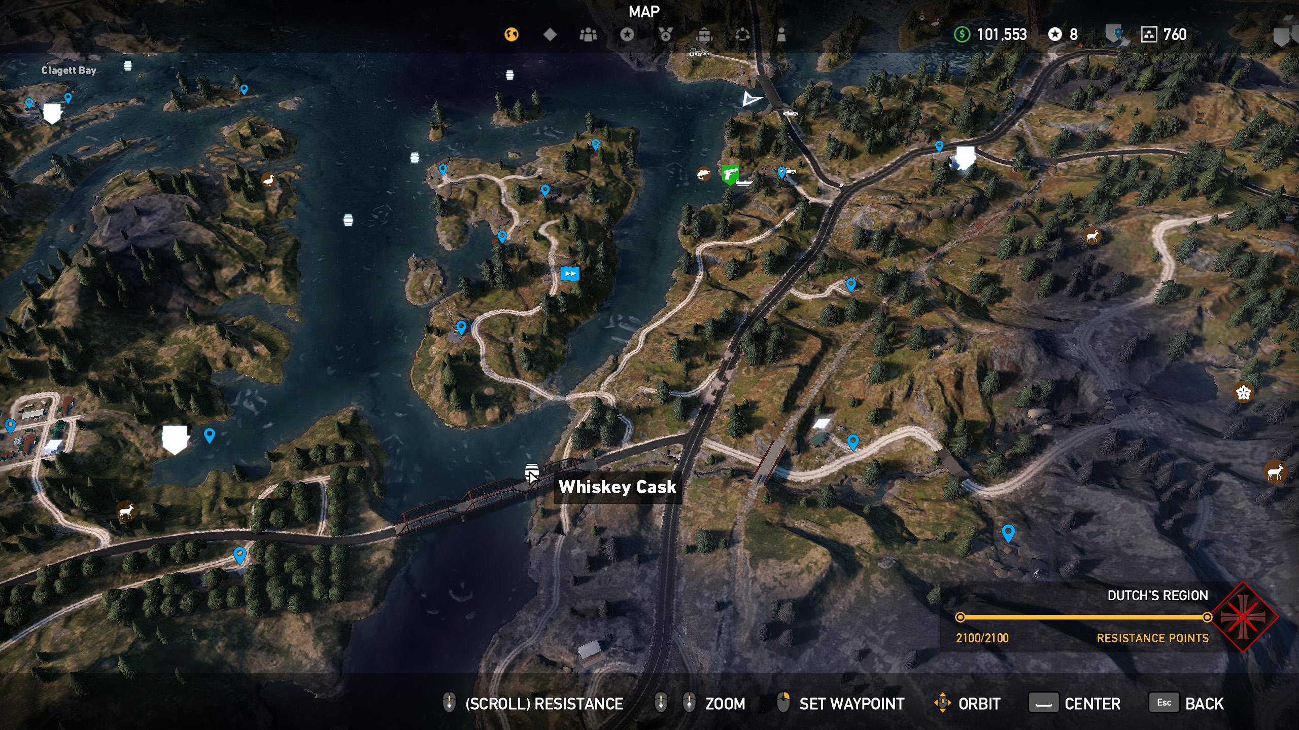 Far Cry 5 whiskey barrel location 7