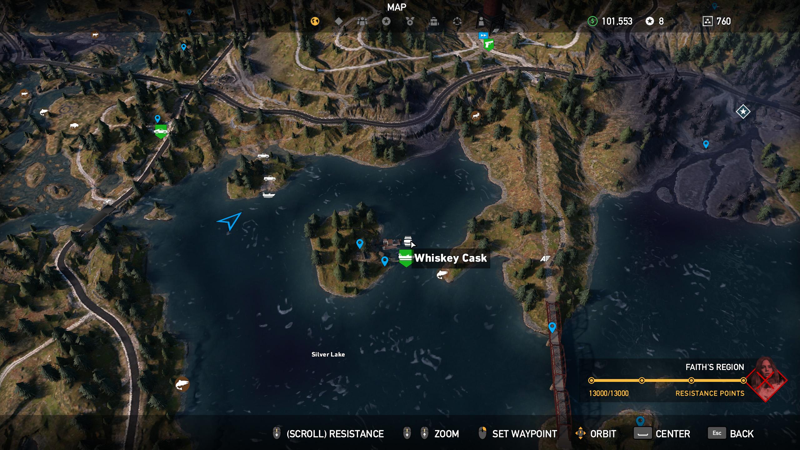Far Cry 5 whiskey barrel location 15