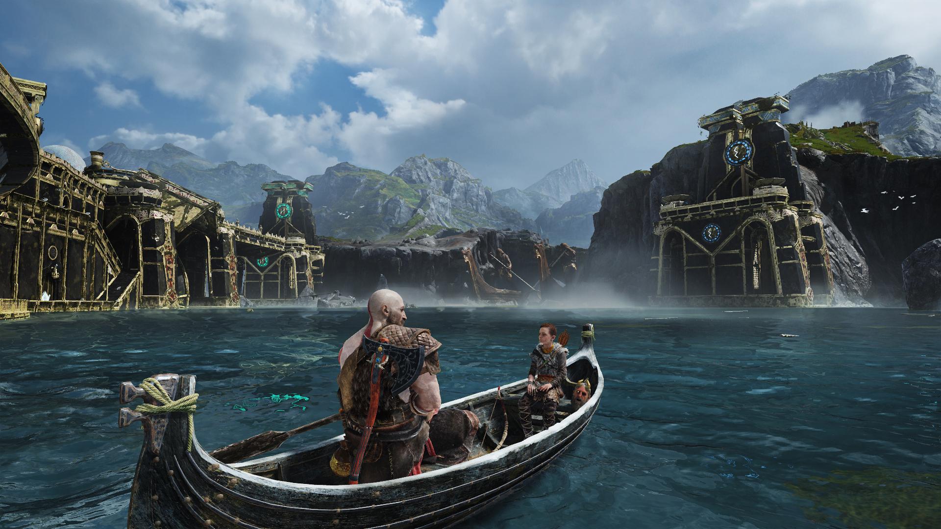 God of War Lake of 9 Realms