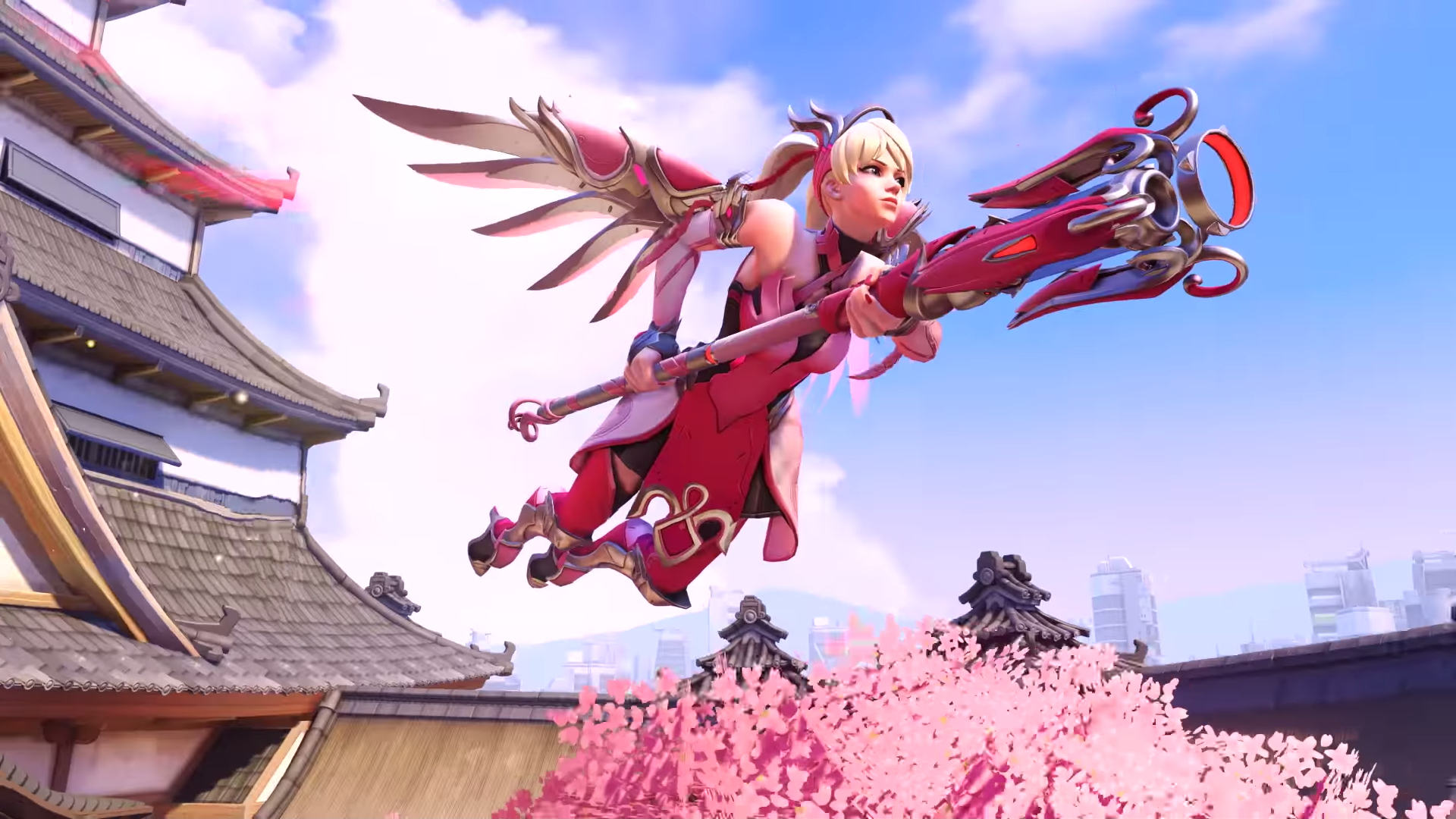 New Pink Overwatch Mercy skin funds Breast Cancer Research
