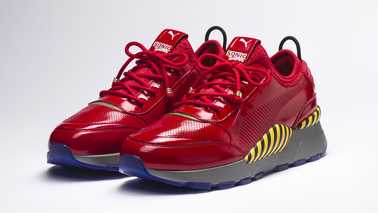 puma and sega announce sonic rs 0 and dr eggman sneakers shacknews. Black Bedroom Furniture Sets. Home Design Ideas