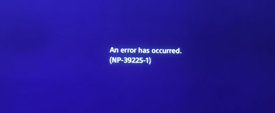Potential Fix for PSN NP-39225-1 Error