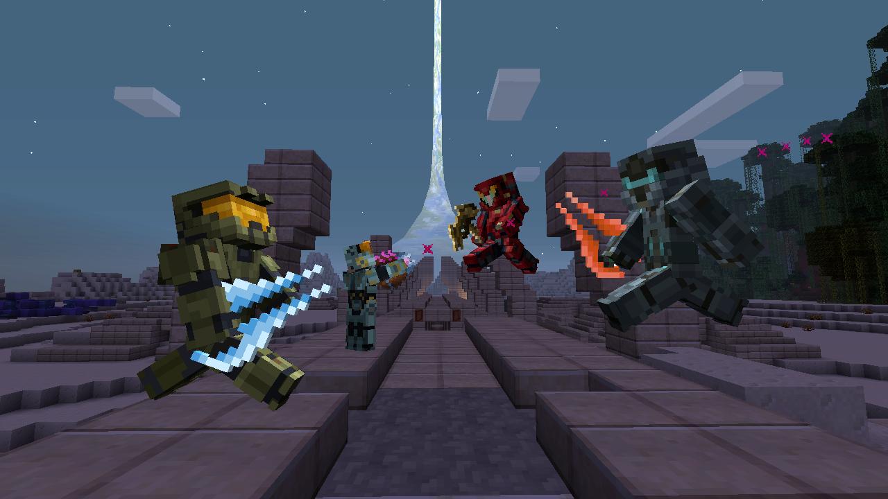 Minecraft Spielen Deutsch Skin Para Minecraft Pe De Halo Bild - Skins fur minecraft minecraft auf den pc