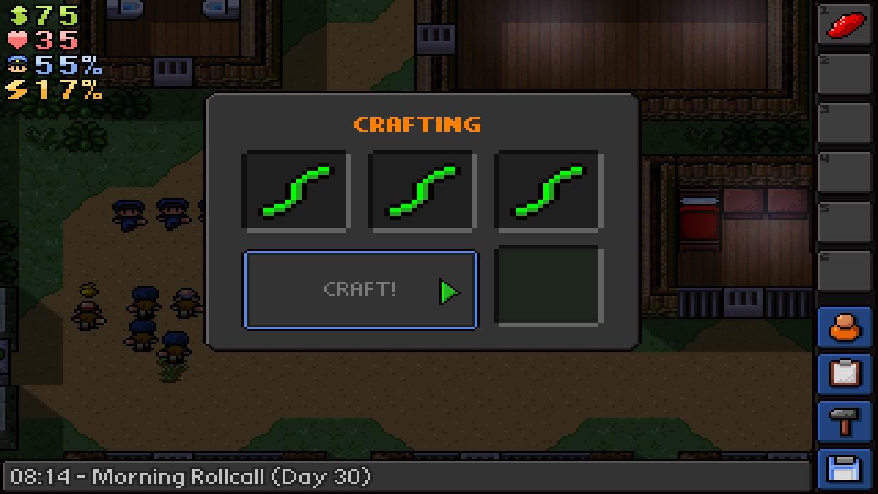 Escapist  Crafting
