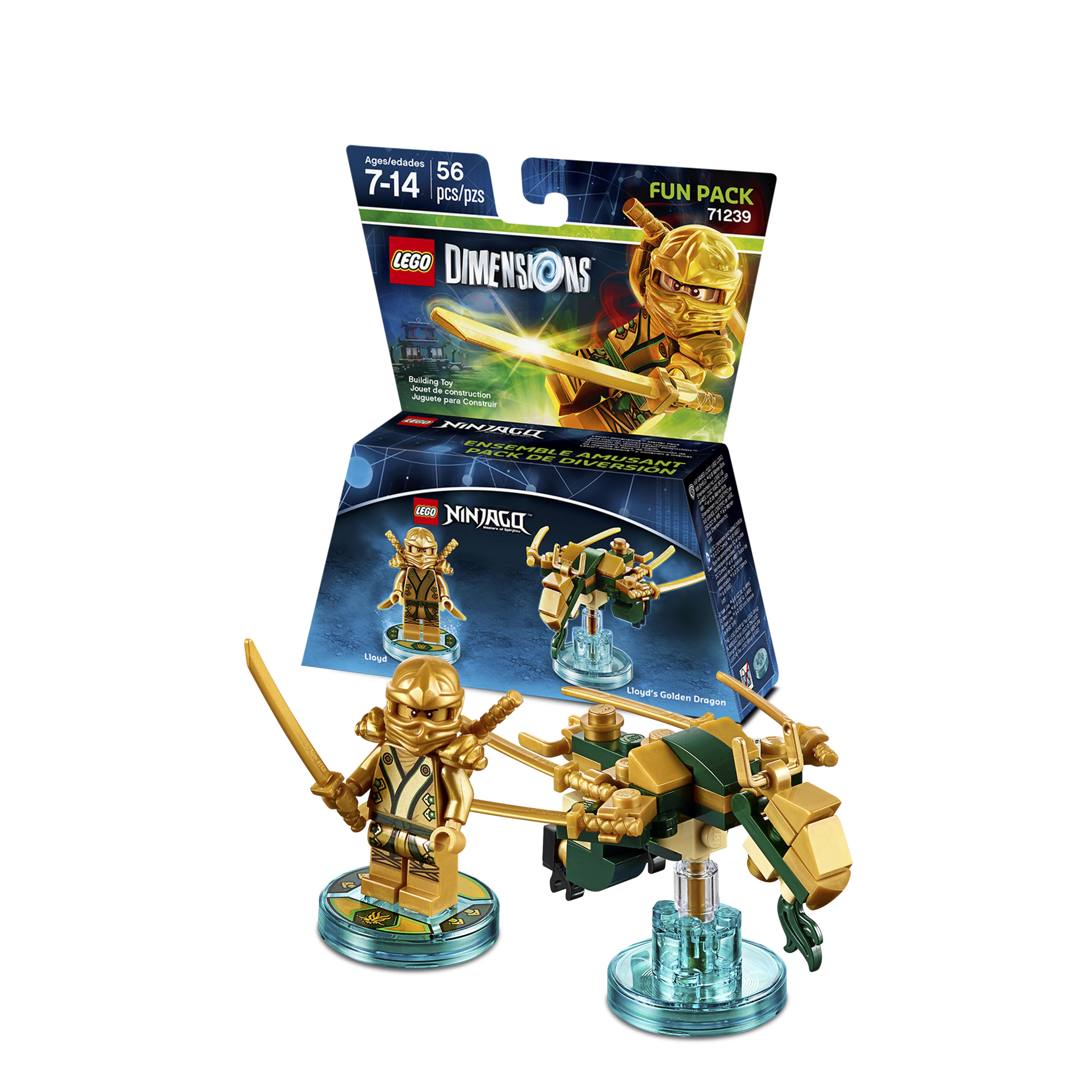 Lego dimensions will include new packs from dc comics - Ninjago les 4 armes d or ...