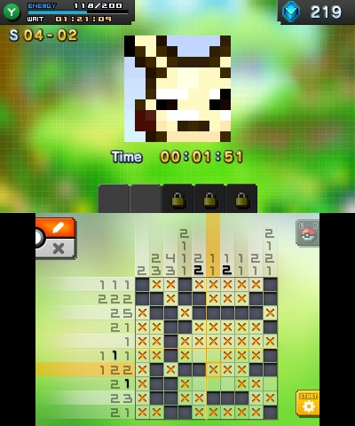 Pokemon picross review be a pikasso shacknews for Mural 01 pokemon picross