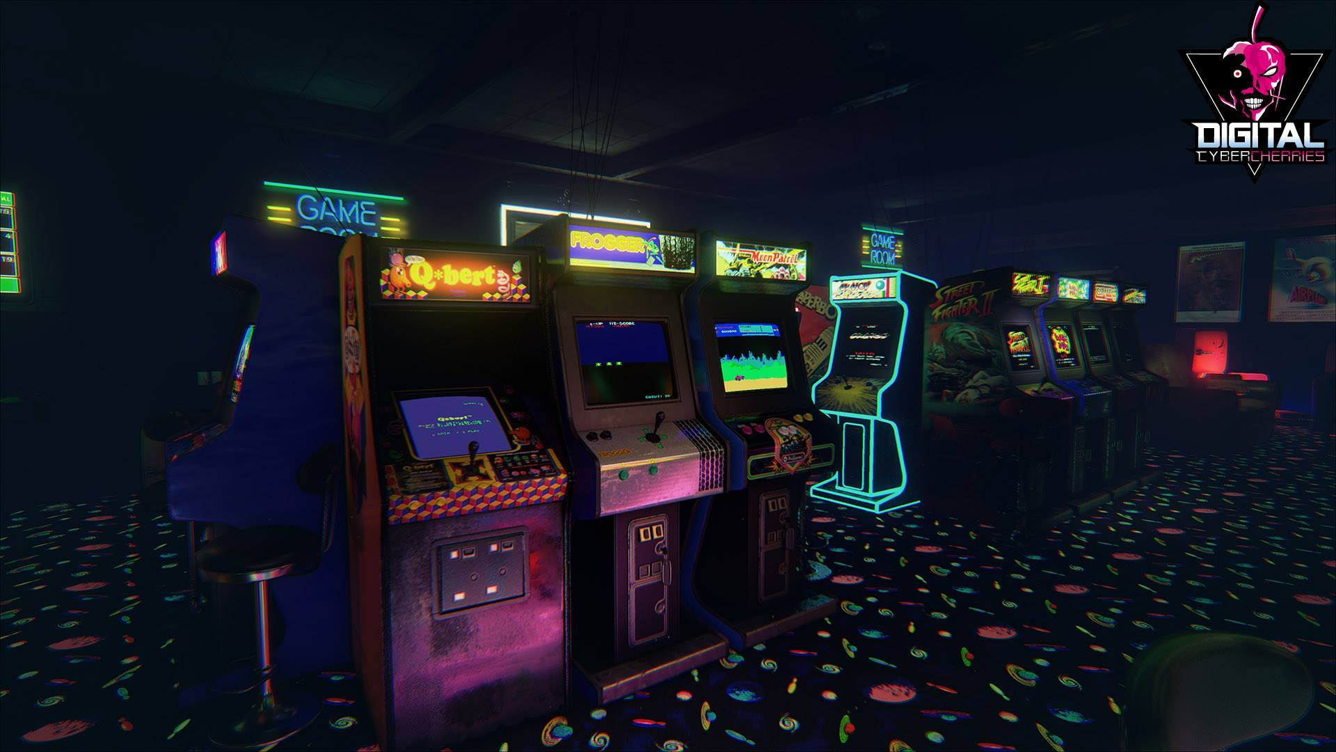Home Design Games Like Sims New Retro Arcade Neon Will Come To Vive Shacknews