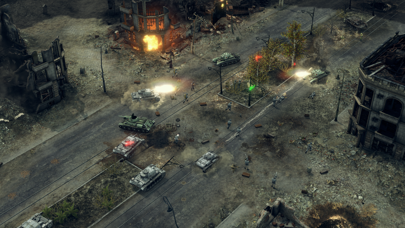 Sudden Strike 4 Brings Ww2 Real Time Strategy Battles To