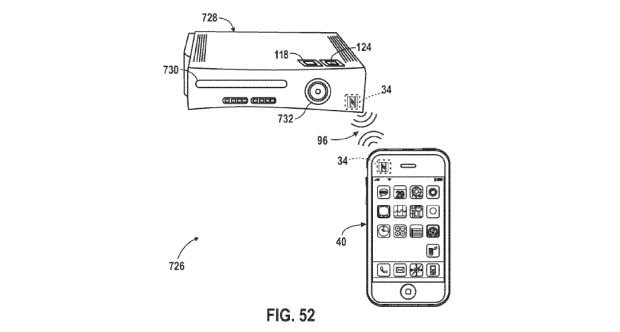 apple patents game controller and console remote