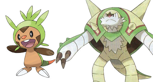 Pokemon X And Y Chespin Evolution Pokemon X & Y's cr...