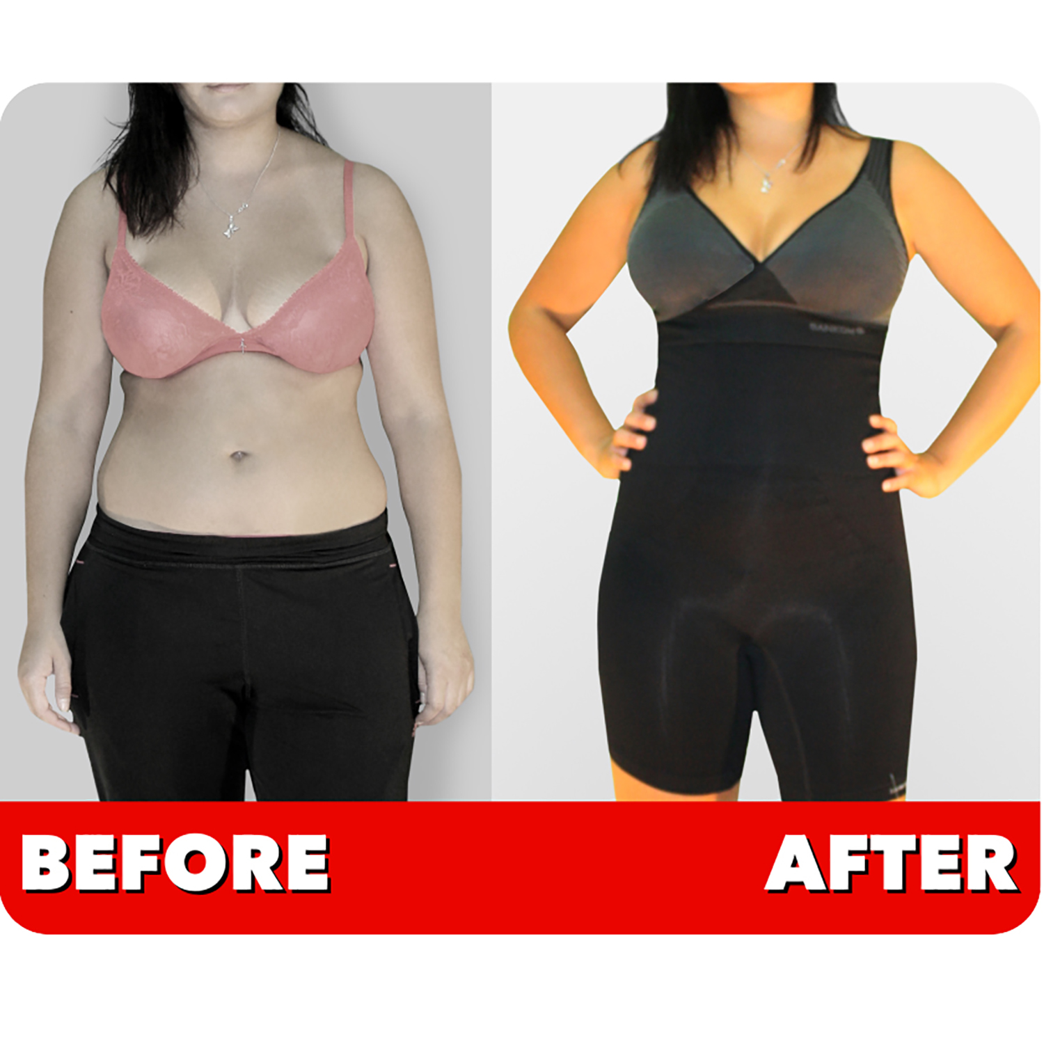 d7063be58ee New SANKOM Grey Slimming   Posture Shaper with Bamboo Fibers XS