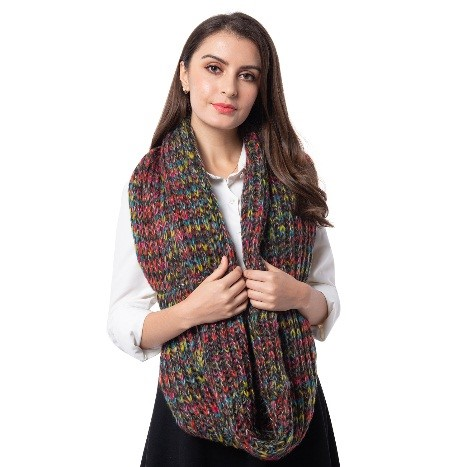Girl with Woolen Scarf